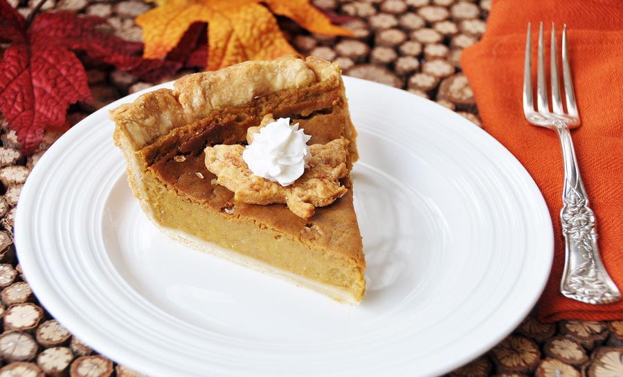 Vegan Pumpkin Pie! This dairy and egg free pumpkin pie recipe rivals the conventional pie that I used to make. My entire family gobbled this up in no time flat. A crowd pleaser! www.veganosity.com