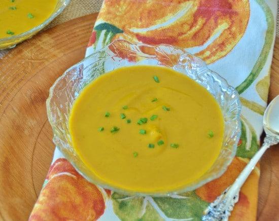 Vegan Carrot & Ginger Soup