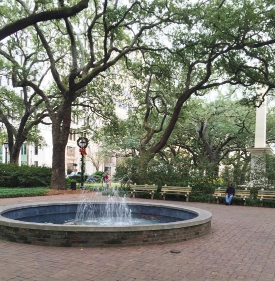 Park in Savannah, GA
