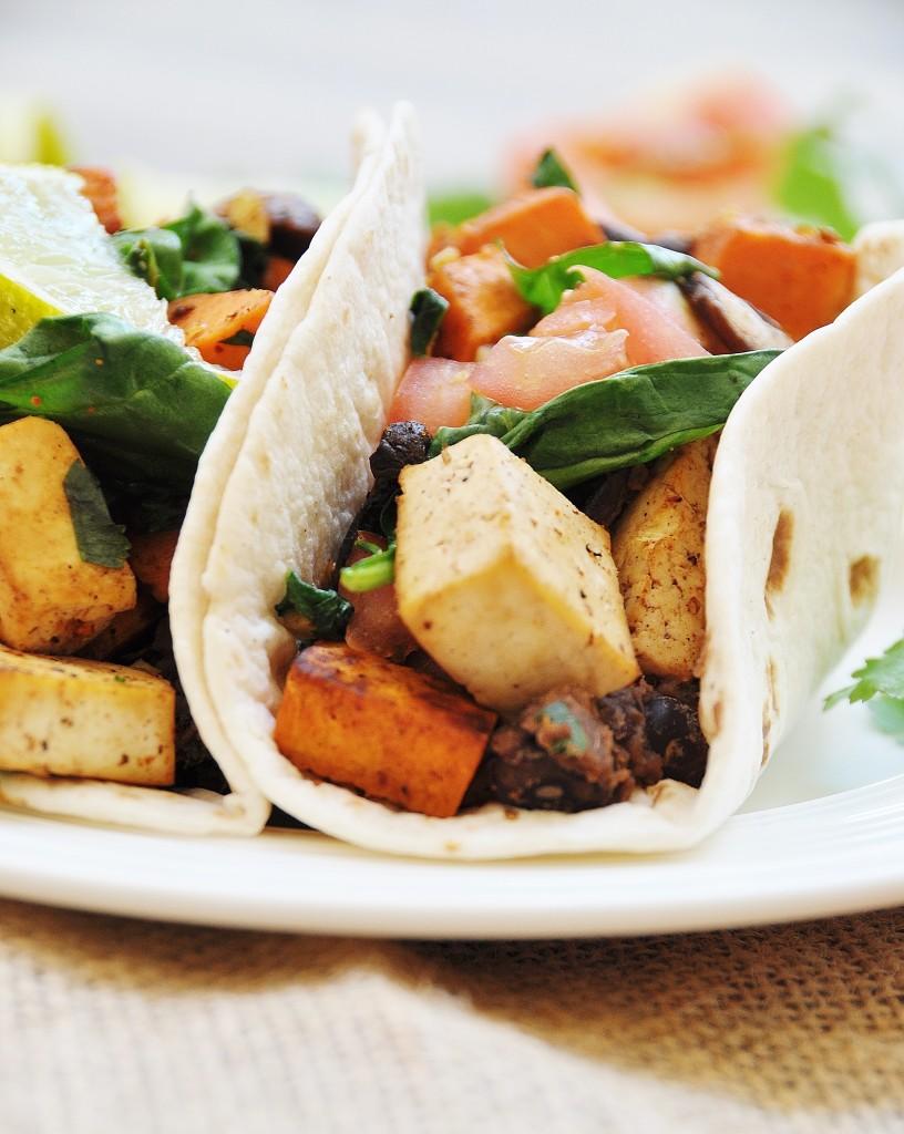 Sweet Potato and Tofu Tacos