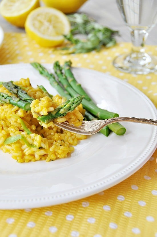 Lemon and Asparagus Risotto 30