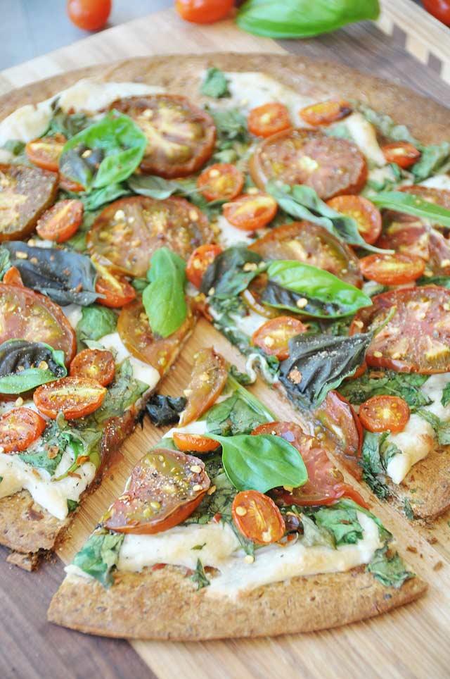 Vegan Summer Flatbread Pizza