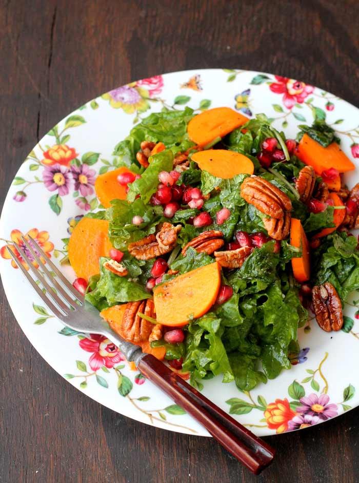 kale-persimmon-and-pecan-salad-www.foodpleasureandhealth.com