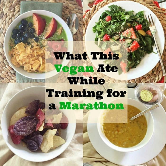 Take a look at the plant-based vegan foods that I ate in a day while training for a marathon. www.veganosity.com
