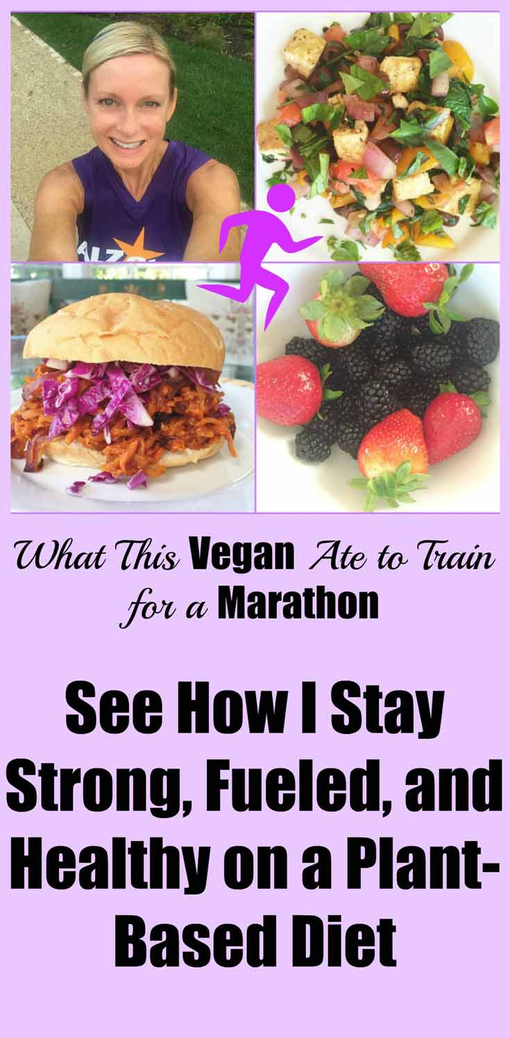 How to get all of the protein and nutrients you'll need to train for a marathon on a vegan plant-based diet. www.veganosity.com