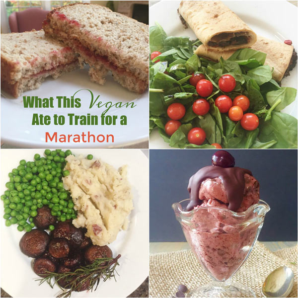 See how a whole foods plant-based vegan gets her fuel while training for a marathon! www.veganosity.com