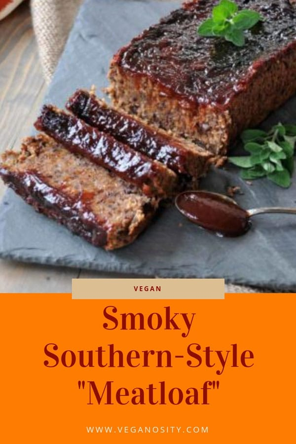 Our gluten-free vegan BBQ meatless meatloaf is a reader favorite! Perfect for a Sunday supper or the holidays. #vegan #meatloaf #beans