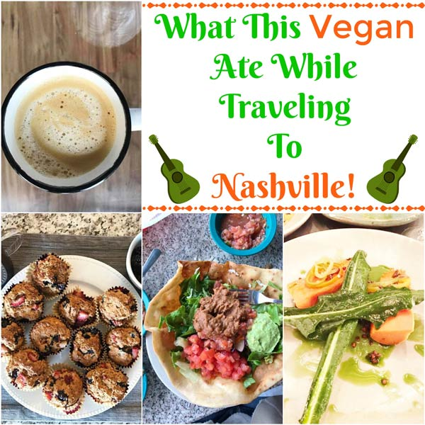 There are great vegan options in Nashville and throughout the South if you know where to look and how to order! www.veganosity.com