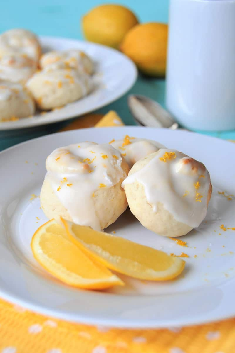 Vegan lemon knot cookies just like the ones I used to buy at Starbucks! Egg-free and dairy-free.