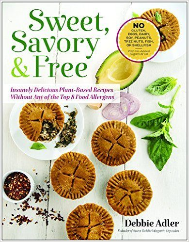 Debbie Adler's, Sweet, Savory & Free cookbook giveaway