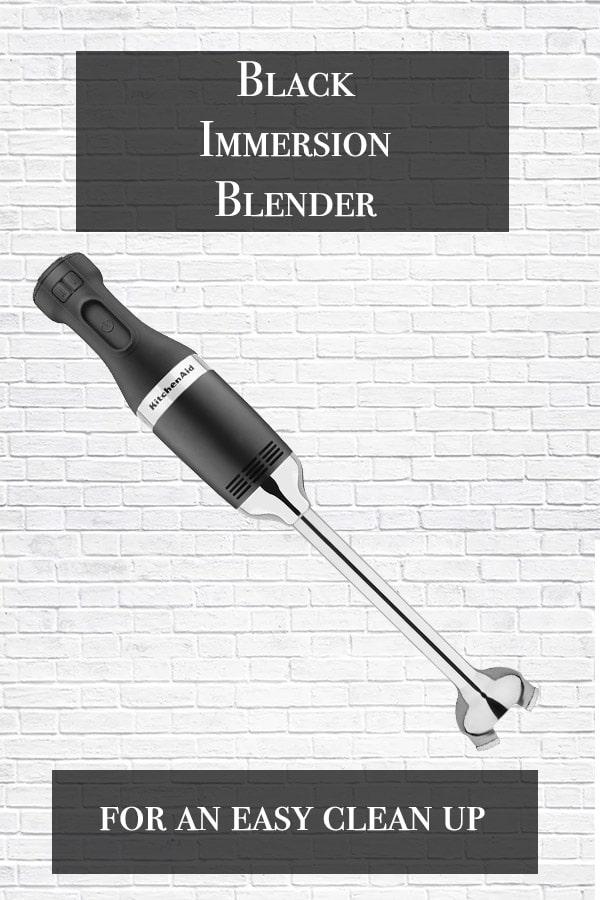black immersion blender title