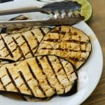Smoky Grilled Teriyaki-Lime Eggplant