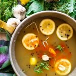 Detox Immune Boosting Vegetable Herb Broth