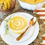 Hannah's Sweet Potato & Pumpkin Bisque - Dairy Free and Gluten Free