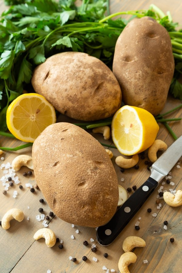 Twice Baked Ranch potato ingredients