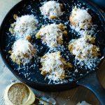 Roasted Garlic Parmesan Mushrooms- Vegan