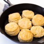 Homemade Vegan Buttermilk Biscuits