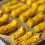 Vegan Baked Herbed Polenta Fries