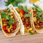 Veggie Tacos with Balsamic Glaze