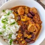Spicy Vegan Red Beans & Rice
