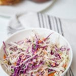 Easy Homemade Creamy Vegan Coleslaw