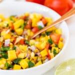 Easy Homemade Mango Salsa